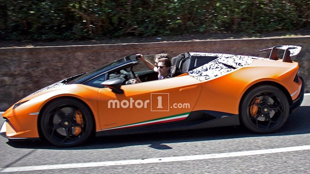 Lamborghini Huracan Spyder Performante sắp trình làng - 2