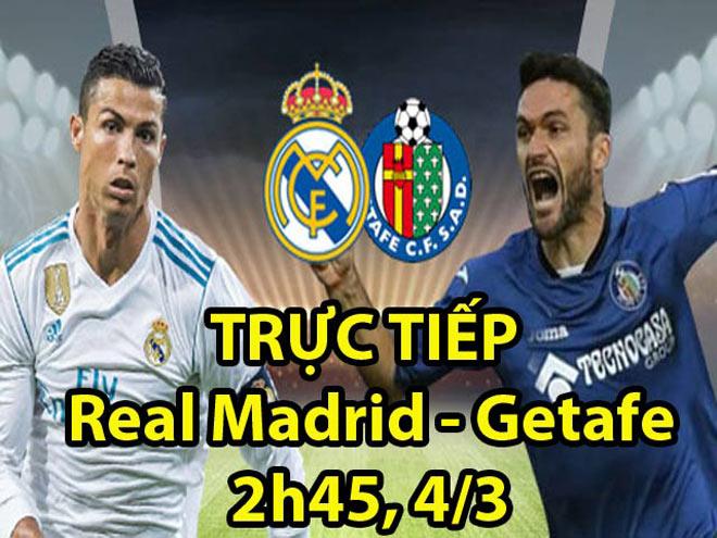 Chi tiết Real Madrid - Getafe: Ronaldo lập cú đúp (KT) - 6