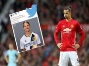 HLV Mourinho xác nhận: Ibrahimovic sẽ rời MU, có thể dự World Cup 2018