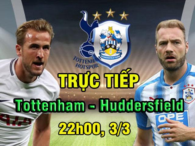 TRỰC TIẾP Tottenham - Huddersfield Town: Bắt nạt tân binh, dọa Juventus