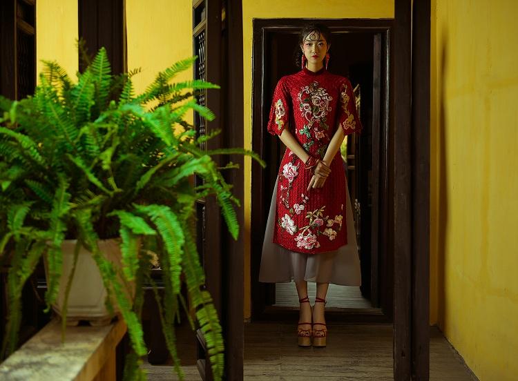 NTK Hùng Việt hoài niệm với áo dài ngày xuân của Hà Nội - 1