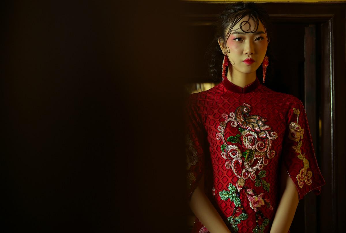 NTK Hùng Việt hoài niệm với áo dài ngày xuân của Hà Nội - 2