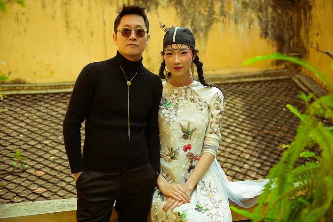 NTK Hùng Việt hoài niệm với áo dài ngày xuân của Hà Nội - 8
