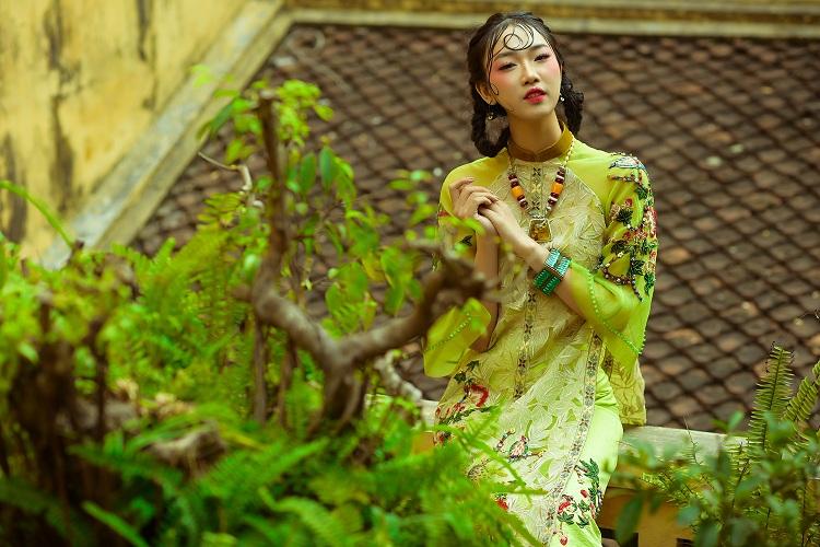 NTK Hùng Việt hoài niệm với áo dài ngày xuân của Hà Nội - 5