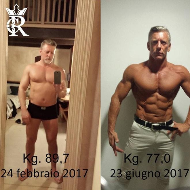 Nỗ lực sở hữu thân hình cơ bắp không thua lực sĩ của ông bố 50 tuổi - 1