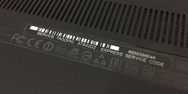 Cách tìm số serial máy tính xách tay để tải driver cần thiết - 3
