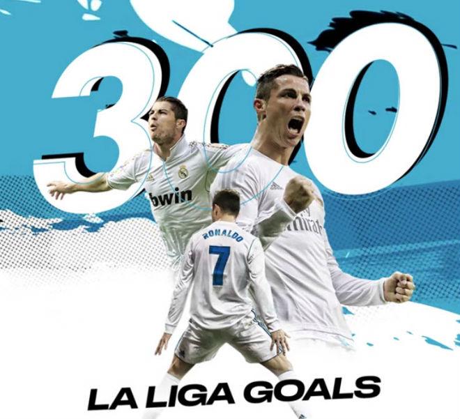 Ronaldo ghi 300 bàn Liga nhanh hơn Messi, nguy cơ lỡ đại chiến PSG - 2