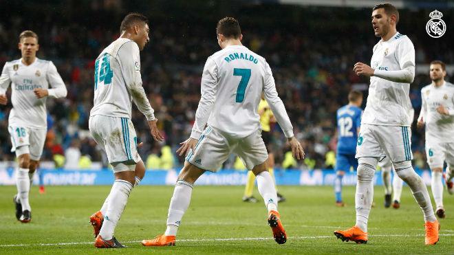 """Real Madrid - Getafe: Tuyệt đỉnh Ronaldo, hủy diệt """"đồ tể"""" - 1"""