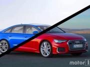 So sánh sự khác biệt về thiết kế của Audi A6 thế hệ cũ và mới
