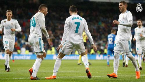 Chi tiết Real Madrid - Getafe: Ronaldo lập cú đúp (KT) - 5