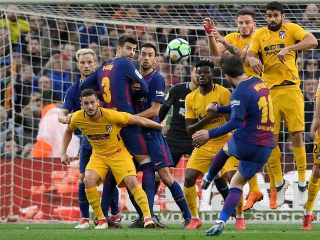 Góc chiến thuật Barca – Atletico: Messi tìm đường sống từ bóng chết