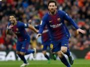 Bóng đá - Messi lập siêu kỷ lục đá phạt, Barca thiệt quân nặng trước tái đấu Chelsea