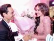 Hà Hồ diện váy xuyên thấu, hôn Kim Lý chốn đông người
