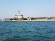 Bất ngờ với nữ binh sĩ tàu sân bay Mỹ hát Nối vòng tay lớn