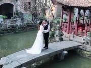 Khắc Việt hé lộ hậu trường chụp ảnh cưới với bạn gái DJ nóng bỏng