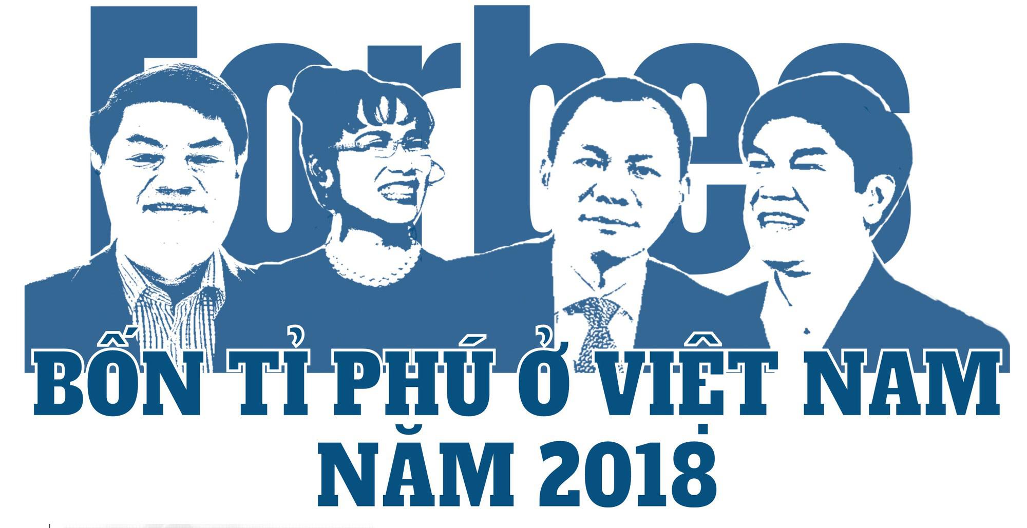 """""""Cận cảnh"""" 4 gương mặt tỉ phú đô la của Việt Nam - 1"""