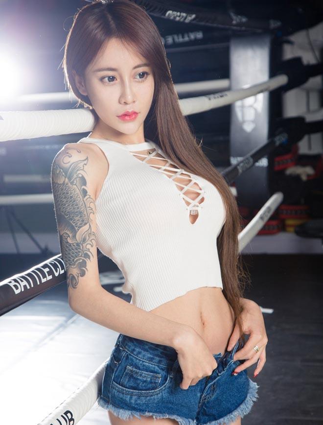 Những hot girl giai đoạn trăng trọn.# mê hích ảnh ở Trung Quốc - 9