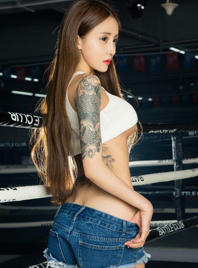 Những hot girl giai đoạn trăng trọn.# mê hích ảnh ở Trung Quốc - 8
