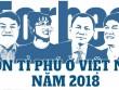"""""""Cận cảnh"""" 4 gương mặt tỉ phú đô la của Việt Nam"""