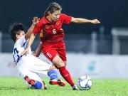 Nữ tuyển thủ  mang thai đá bóng  và vô địch SEA Games