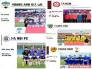 """Sôi sục V-League 2018: Ngôi sao U23 VN  &   """" ngũ đại anh hào """"  tranh ngôi báu"""