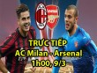 Chi tiết AC Milan - Arsenal: Những nỗ lực vô vọng (KT)