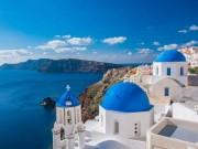 Thiên đường du lịch Santorini: Không phải màu hồng như bạn tưởng tượng