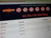 Hậu 8/3, một người trúng jackpot gần 64 tỉ đồng của Vietlott