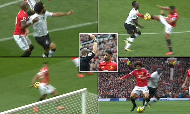 MU thắng Liverpool: 3 lần thoát penalty, 2 lần né thẻ đỏ