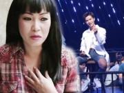 """Phương Thanh  """" tụt huyết áp """"  vì giọng hát của soái ca áo trắng"""