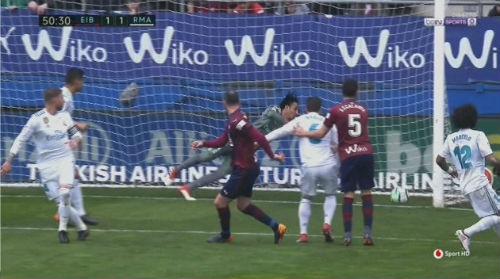 TRỰC TIẾP Eibar – Real Madrid: Hàng thủ hớ hênh, chủ nhà gỡ hòa