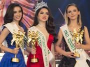 Thời trang - Hương Giang Idol đăng quang Hoa hậu Chuyển giới Quốc tế HOT nhất tuần