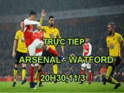 Chi tiết Arsenal - Watford: Chiến thắng nhàn nhã (KT)