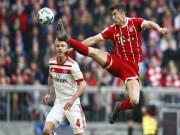 """Bayern Munich - Hamburg: Sức mạnh vũ bão,  """" đánh tennis """"  hủy diệt"""