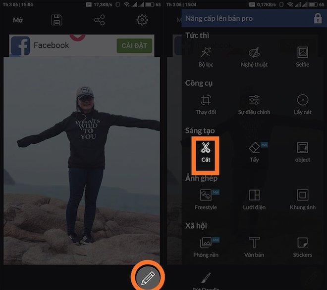 2 1520824605 65 width660height587 Hướng dẫn tách ghép ảnh trên điện thoại như Photoshop