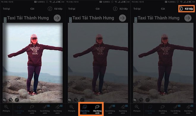 4 1520824634 723 width660height391 Hướng dẫn tách ghép ảnh trên điện thoại như Photoshop