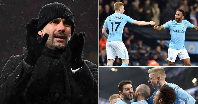 """Stoke City – Man City: """"Lốc xanh"""" của Pep, ngôi vương rất gần"""