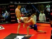 Lên gối trời giáng MMA:  Chết giấc  không kịp nấc