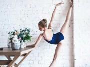 Thăm sàn tập của những thiếu nữ đẹp hơn tranh, khoe chân thẳng không tì vết