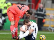 """Bóng đá - Kane chấn thương: """"Đại hỷ"""" cho Liverpool & Chelsea, nguy cơ lỡ World Cup"""