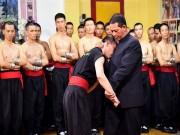 Xuất hiện công phu ngang ngửa  võ truyền điện  Nam Huỳnh Đạo
