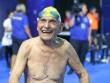 Ngỡ ngàng cụ ông U100 lập kỷ lục bơi thế giới