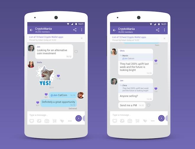 1520941004 900 communities pr 1520940224 width660height503 Viber: 1 tỉ người có thể cùng trò chuyện trong một nhóm chat