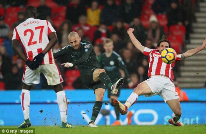 Video, kết quả bóng đá Stoke – Man City: Đẳng cấp siêu sao, cú đúp lập trình