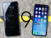 """iPhone X cũng cứng đấy, nhưng Galaxy S9+ còn  """" nồi đồng cối đá """"  hơn"""
