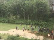 Tá hỏa phát hiện thi thể nam sinh lớp 8 dưới sông Ngàn Sâu