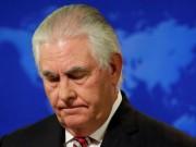Tổng thống Mỹ Donald Trump bất ngờ cách chức Ngoại trưởng Rex