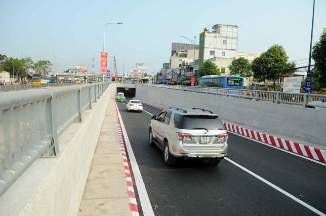 """Hầm chui 500 tỷ xóa nút giao thông """"nuốt người"""" ở Sài Gòn - 3"""