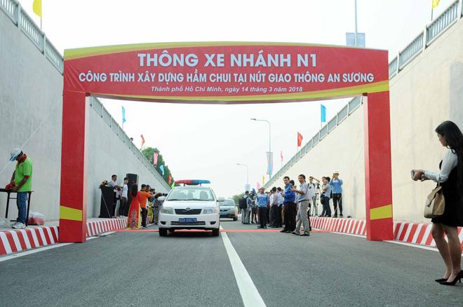 """Hầm chui 500 tỷ xóa nút giao thông """"nuốt người"""" ở Sài Gòn - 1"""