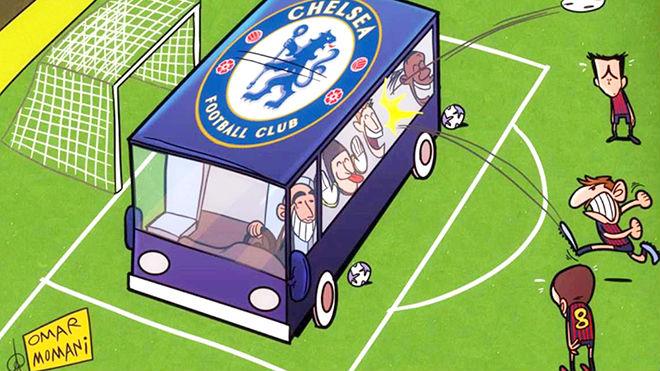 """Chelsea dựng """"pháo đài"""" ở Nou Camp: """"Ma pháp"""" Conte đấu Messi - 1"""